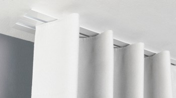 Einputzschiene 2 läufig für Gardinen & Vorhänge Modell 580