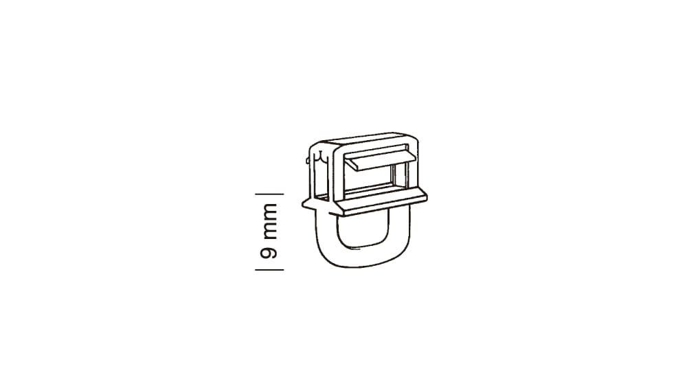 Clic Gleiter mit Längsöse 4 mm Artikelbild