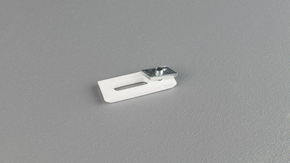 Deckenhalter für Modell 845 in weiß