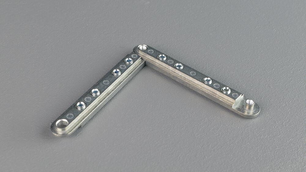 Eckverbinder 6mm für Schiene Modell 876/877