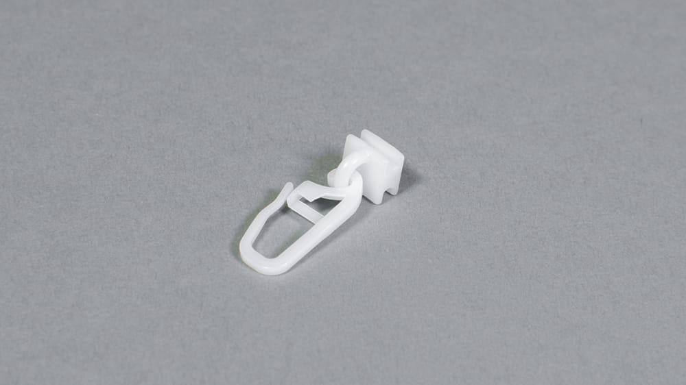 Gelenkgleiter mit langem Haken 6 mm