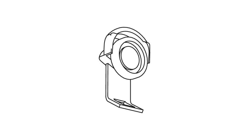 Roller mit Stahlachse für Schiene 750 Artikelbild