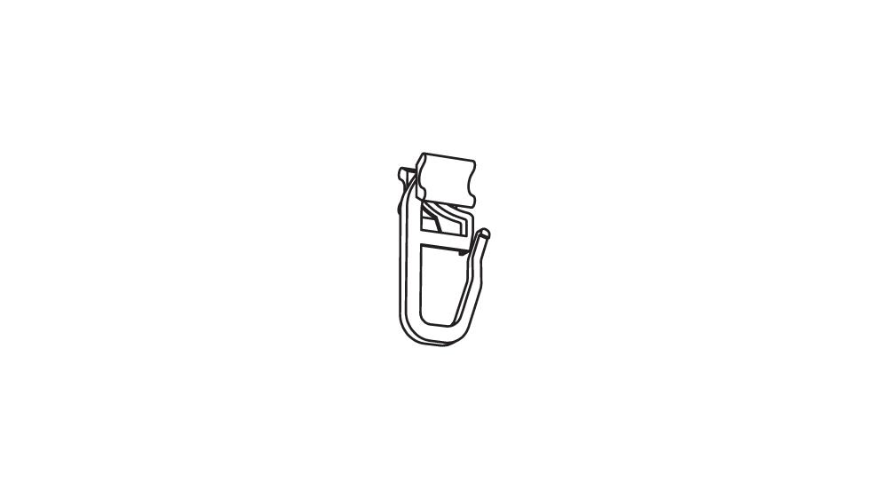 X - Gelenkgleiter 6 mm Artikelbild
