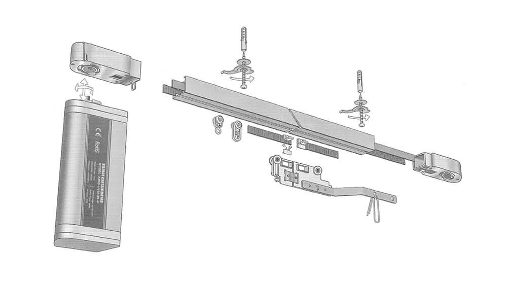 NEU! Premium-Modell 620 Elektroschiene mit App-Steuerung Artikelbild