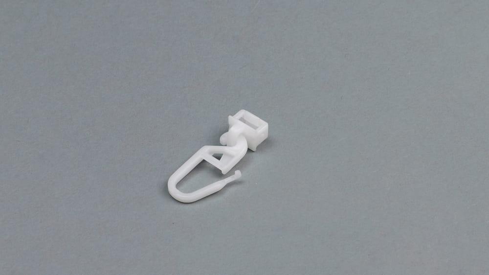 Interstil - Clips-Gleiter mit Faltenleghaken