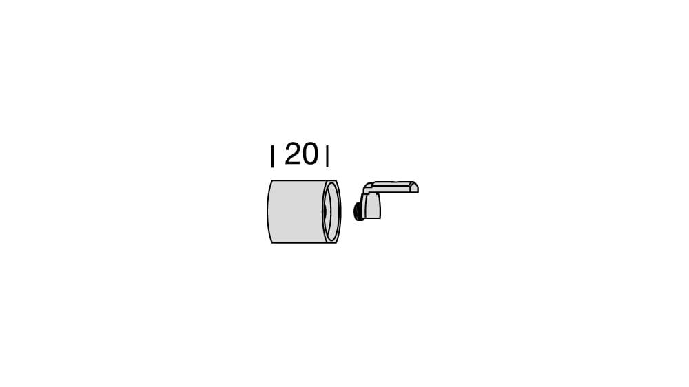 Interstil Sinus.4W (1-läufig) mit passenden Trägern und Gleitern Artikelbild