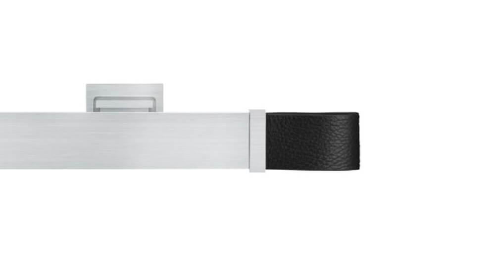 Ambition (1-läufig) Aluminium/Schwarz mit passenden Träger und Gleiter