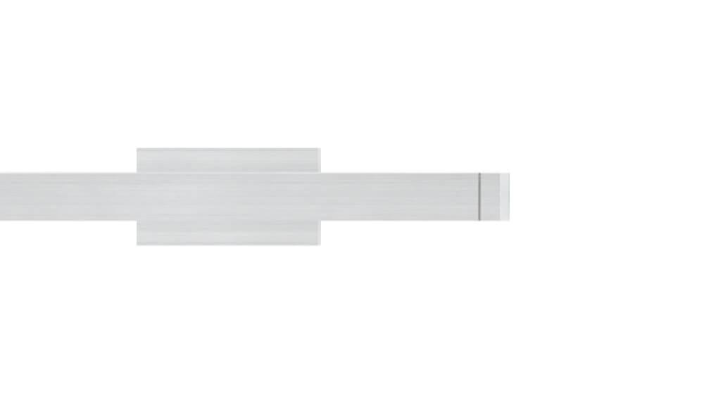 Compact 1 (1-läufig) aluminium mit passenden Träger und Gleiter