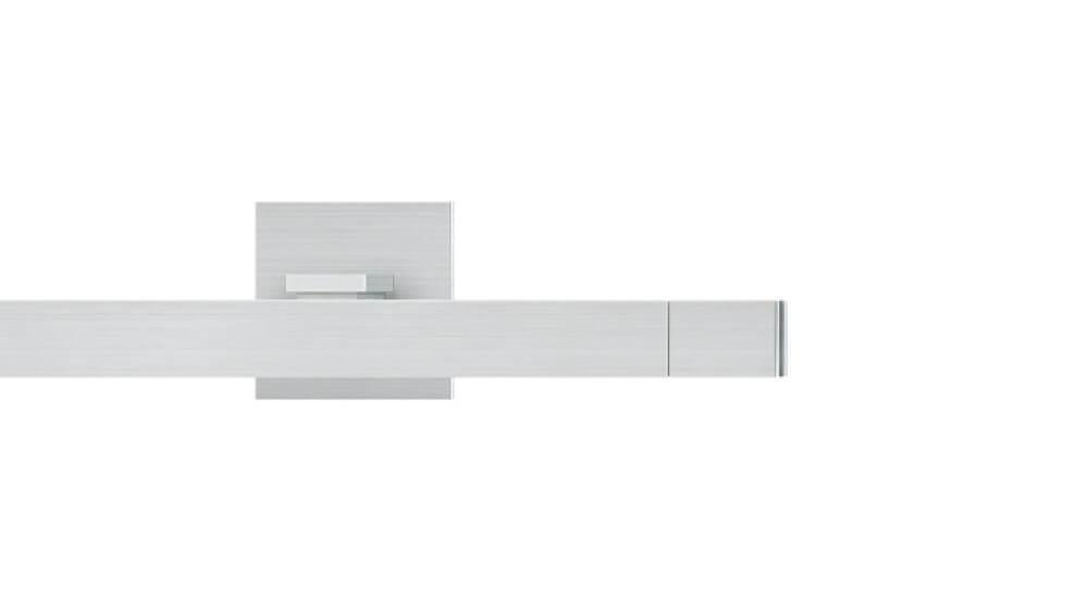 Concept 3 (1-läufig) aluminium mit passenden Träger und Gleiter