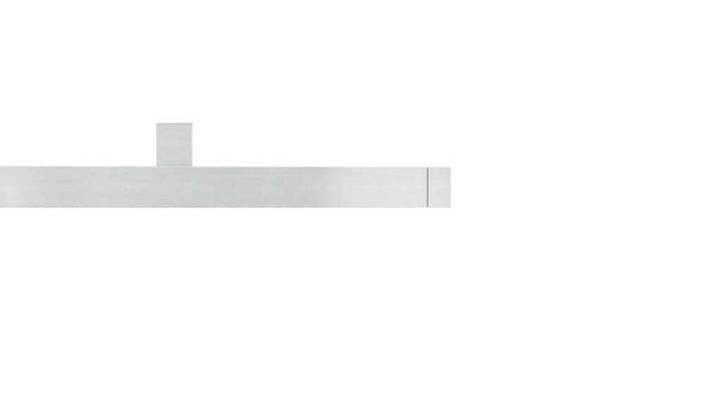 Cubus 1 (1-läufig) aluminium mit passenden Träger und Gleiter