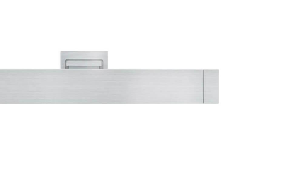 Dimension (2-läufig) aluminium mit passenden Träger und Gleiter