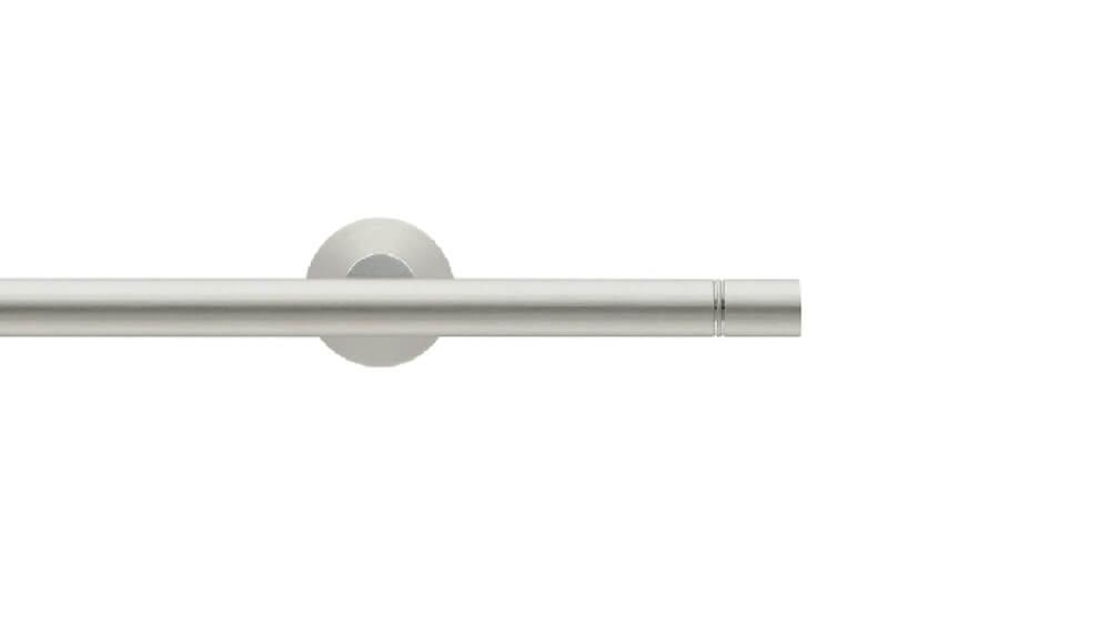 Duett (1-läufig) nickel matt mit passenden Träger und Gleiter