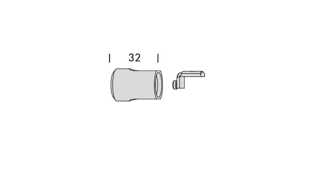 Luv 3 (1-läufig) mit passenden Trägern und Gleitern Artikelbild
