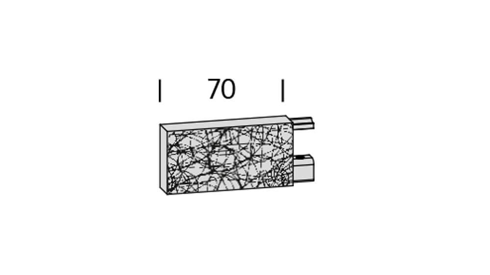 Event (2-läufig) edelstahl/aluminium poliert mit passenden Träger und Gleiter Artikelbild