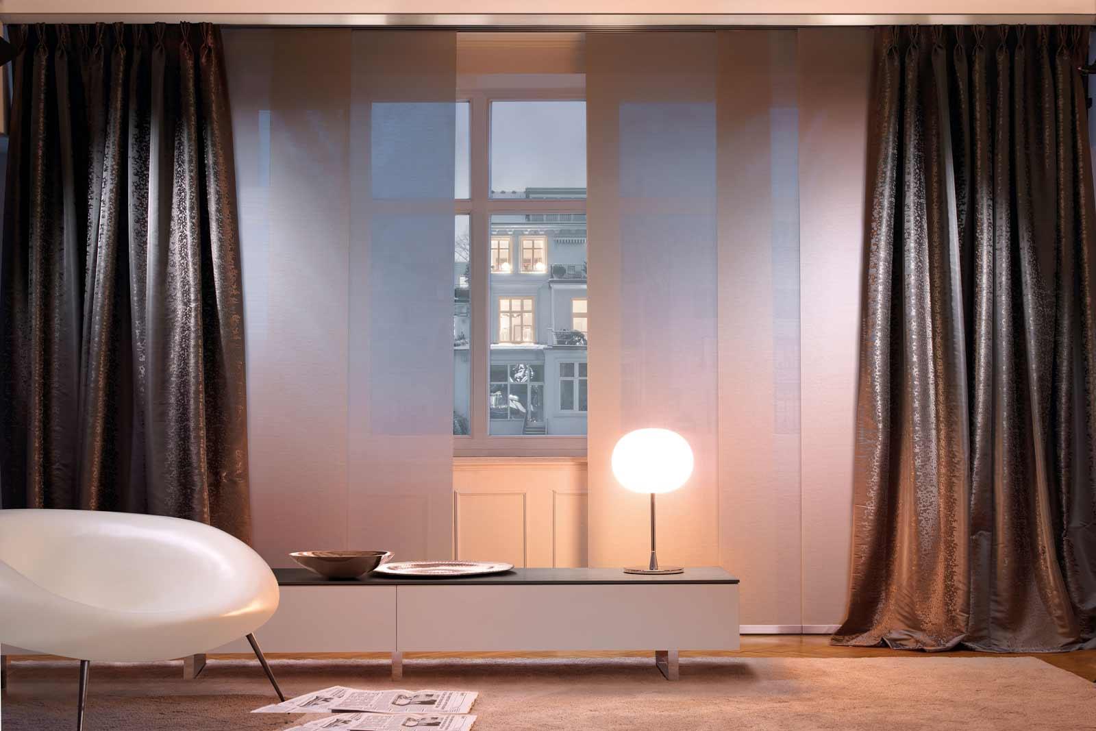 vorhangschienen. Black Bedroom Furniture Sets. Home Design Ideas