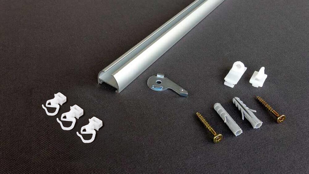 Gardinen / Vorhangschiene zur Schnellmontage Modell 410 Artikelbild