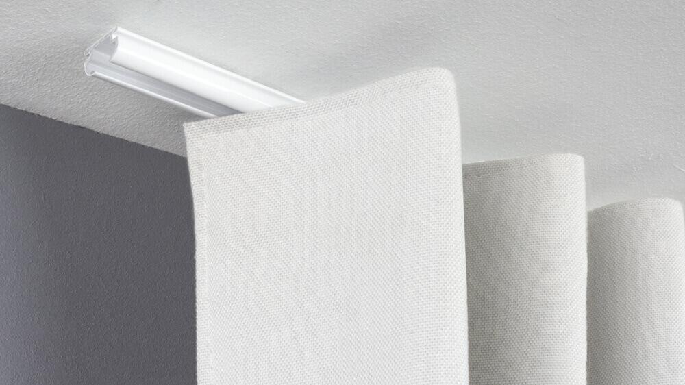 Flache Deckenschiene zum Aufschrauben Modell 800