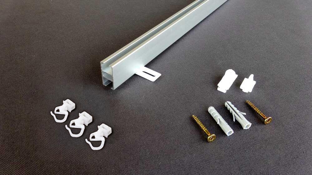 Gardinen / Vorhangschiene zur Schnellmontage Modell 840 Artikelbild