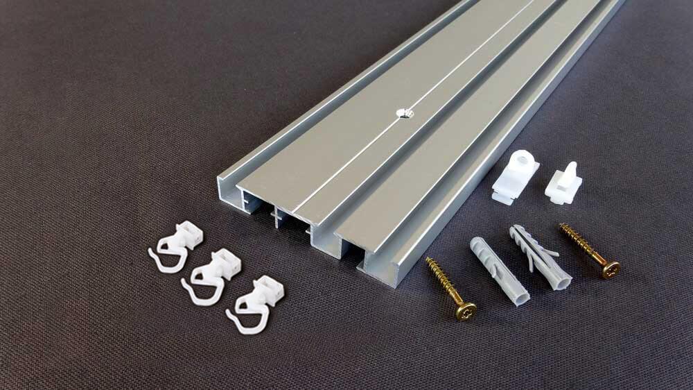 Flachschiene zum Aufschrauben Modell 881 Artikelbild
