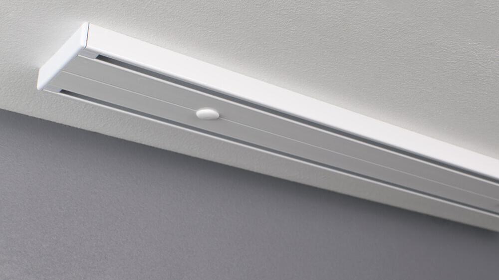2 läufige Gardinenschiene zum Aufschrauben Modell 883 Artikelbild