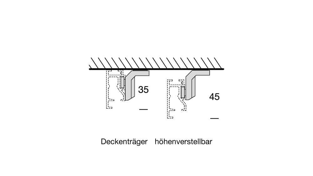 Interstil Sphäre W (1-läufig) mit passenden Trägern und Gleitern Artikelbild