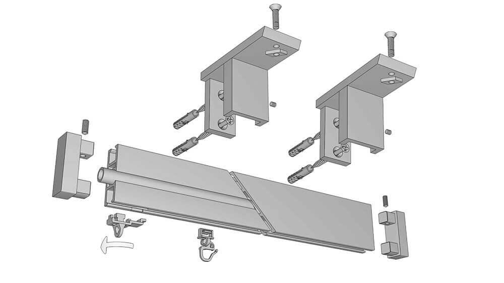 Decorschiene Modell 700 Artikelbild