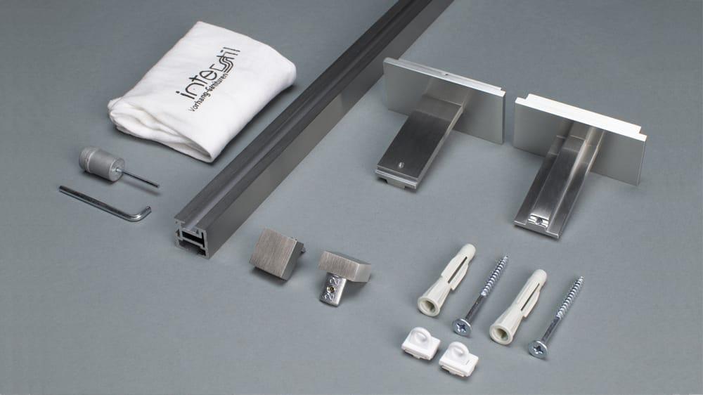 Compact 1 (1-läufig) mit passenden Trägern und Gleitern Artikelbild
