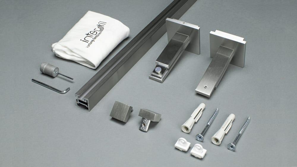 Compact 3 (1-läufig) mit passenden Trägern und Gleitern Artikelbild