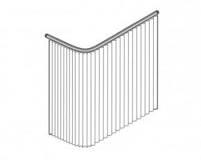 L-Form System 110 cm Breite x 100 cm Tiefe mit einem 80 cm Abhänger