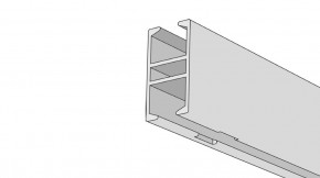Raumtrennschiene / Duschgarnitur Modell 840RT